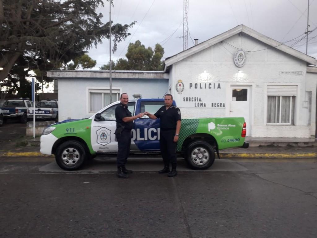 Nuevos patrulleros para Hinojo, Sierras Bayas y Loma Negra