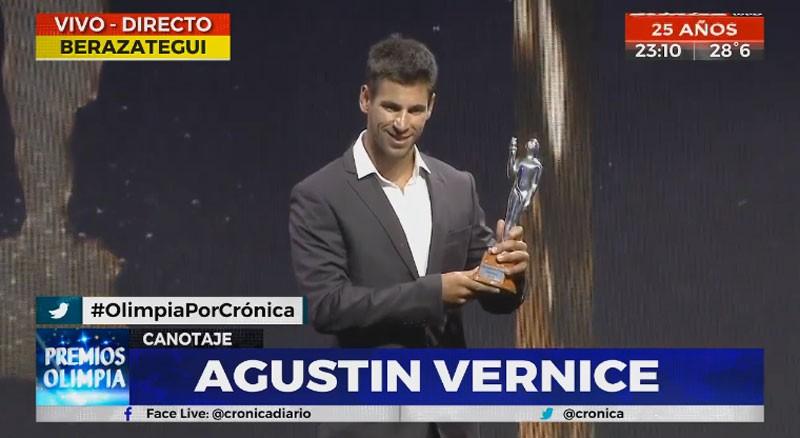 Agustín Vernice Olimpia de Plata 2019