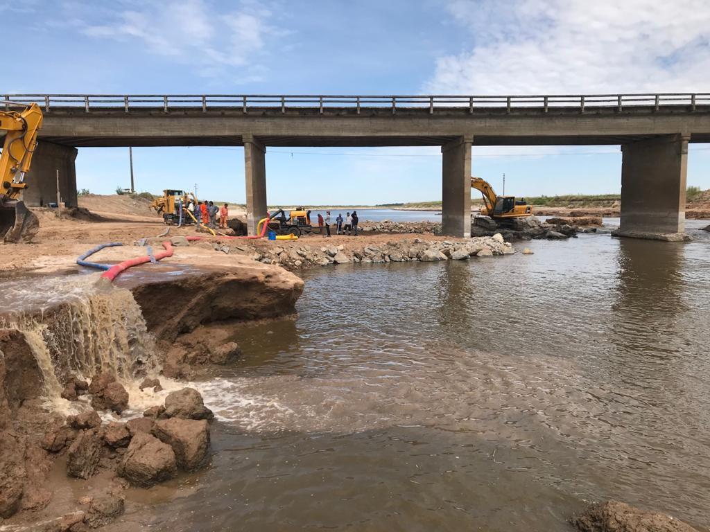 El sábado se rehabilita la circulación por la Ruta 3 entre San Miguel del Monte y Las Flores