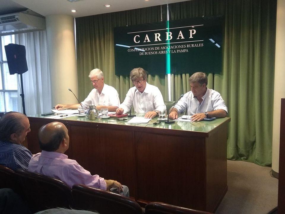 CARBAP decidió realizar un cese de comercialización