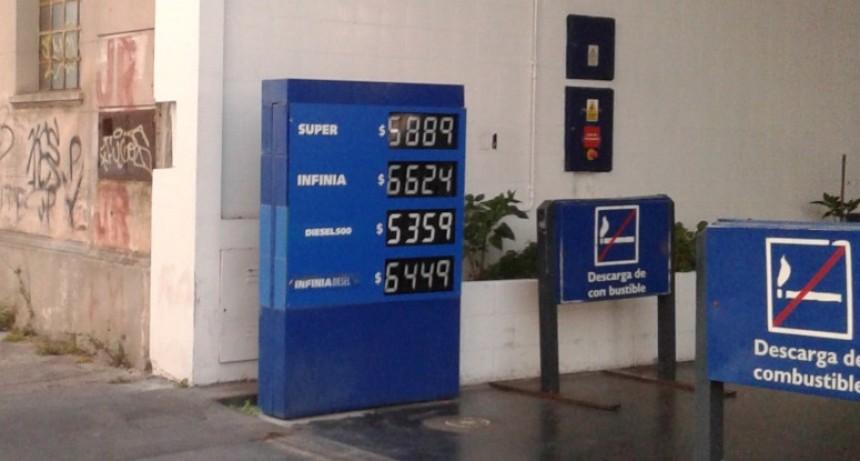 ¿Último? Aumento de los combustibles del año
