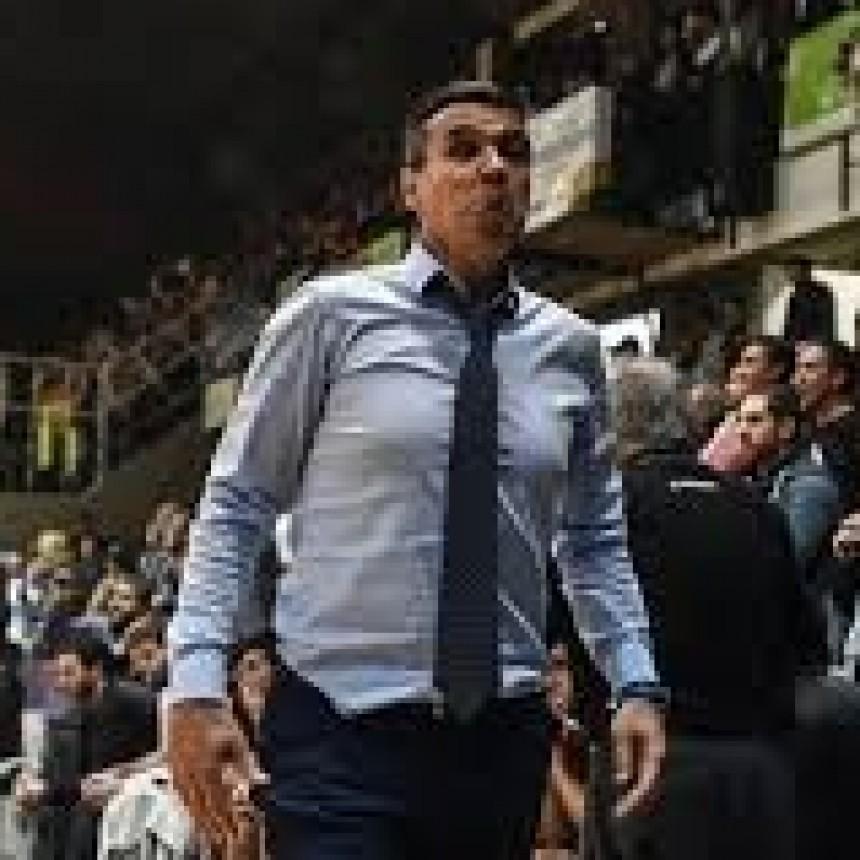 Gustavo Fernández: No me gustó como jugamos en el primer tiempo