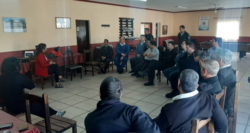 Hubo jornada de sensibilización y concientización contra la violencia de género en la Unidad N° 27