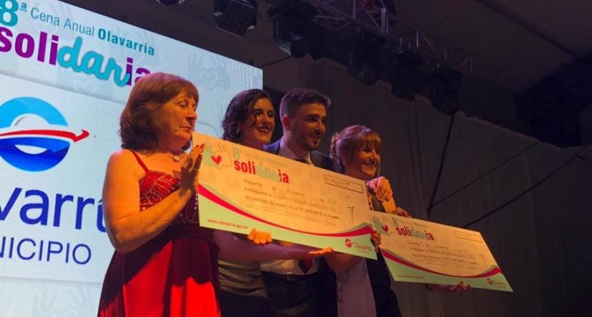 La Cena Solidaria repartió más de $2 millones para las instituciones