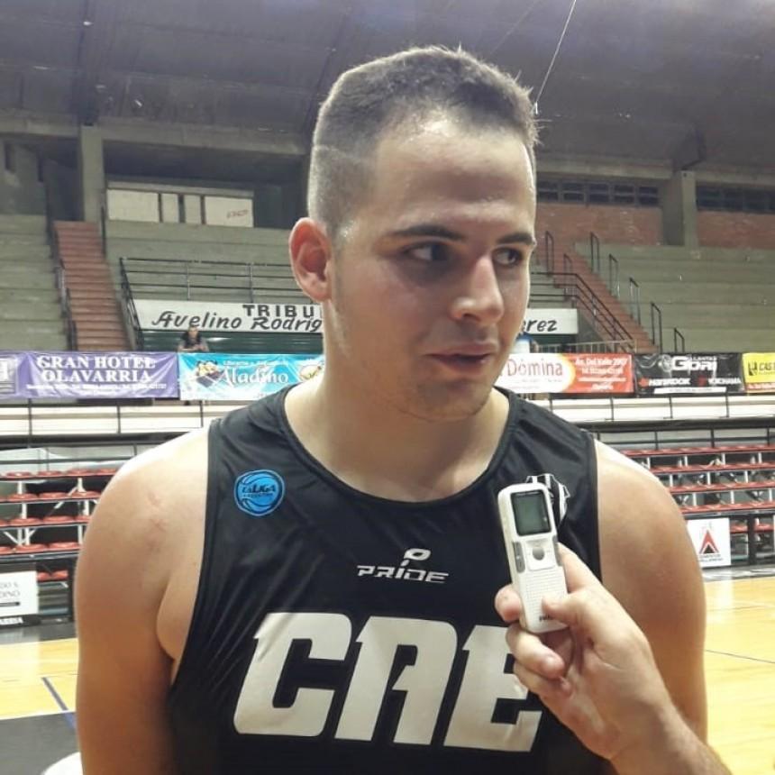 Ignacio Galardo: Ciclista fue muy duro