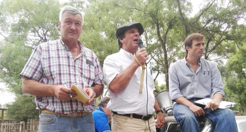 Remate en Recalde Lartirigoyen y Oromi junto a Guillermo Sorsoli