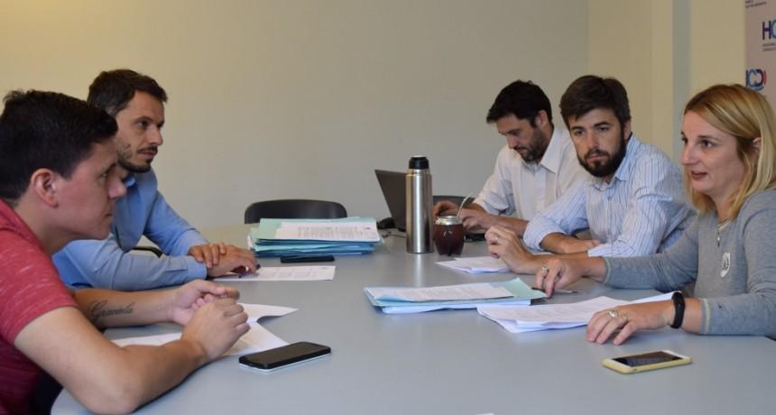 Se realizó reunión de la Comisión de labor parlamentaria