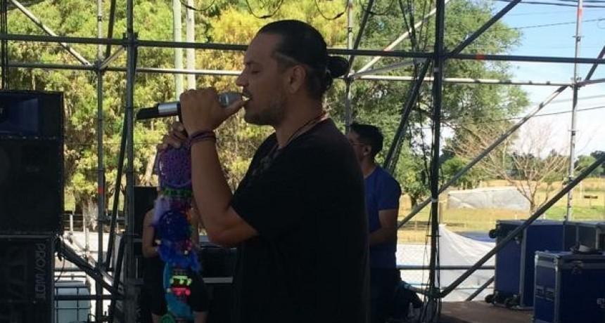 El Indio Lucio Rojas hablo con Lu32 antes de presentarse esta noche en el festival