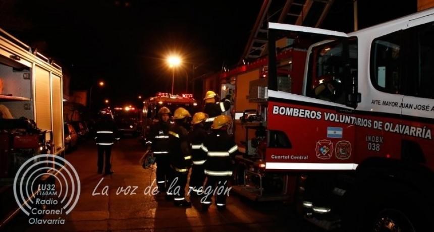 Incendios de pastos convocaron a los bomberos