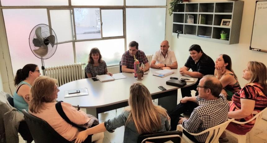 Concejales del interbloque de Todos se reunieron con referentes de Comerciantes Unidos