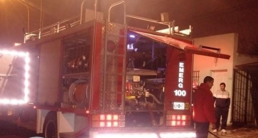 Incendio en sembrado demandó varias horas de trabajo