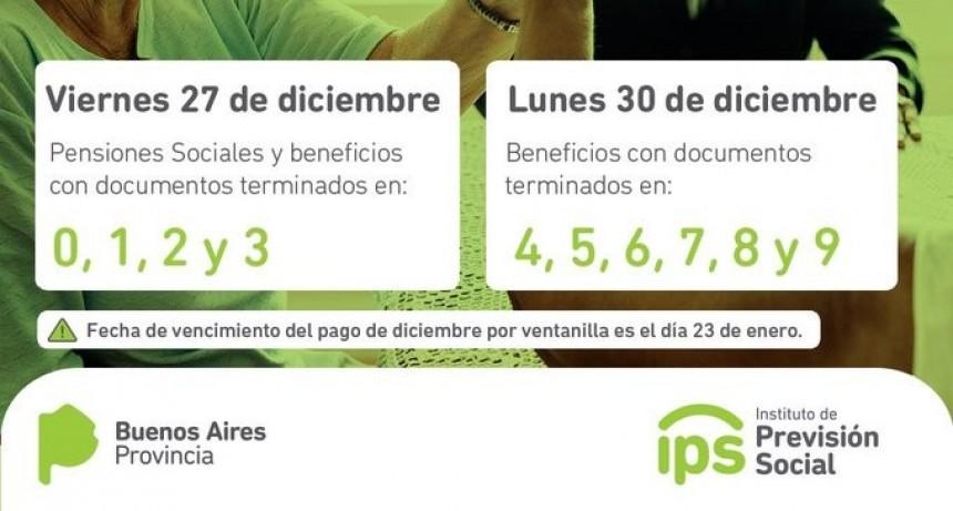 El IPS abona jubilaciones