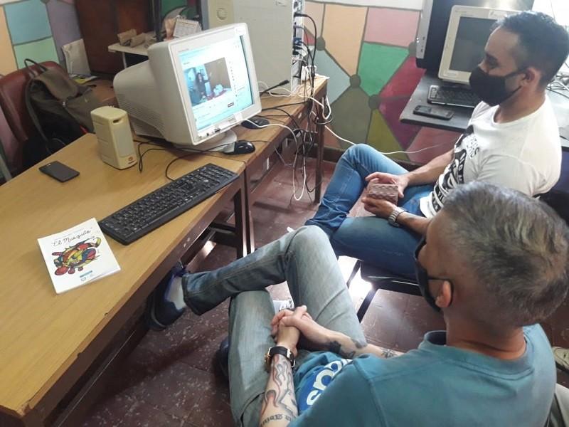 Gira virtual del Centro Cultural El Musguito para internos universitarios