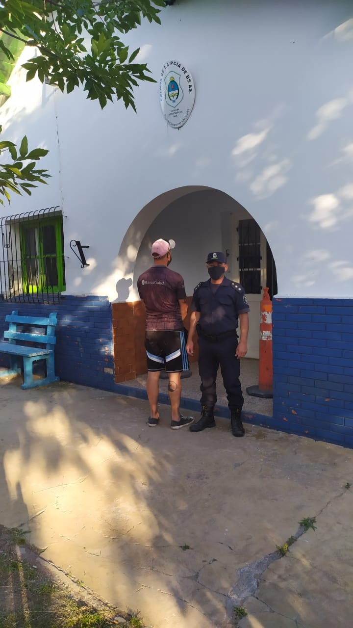 Recalde: un detenido con pedido de captura