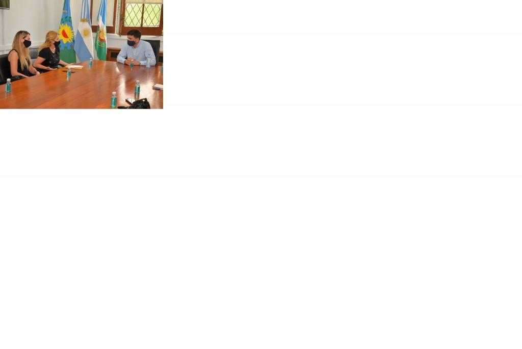 El intendente Galli recibió a representantes de ASPEO