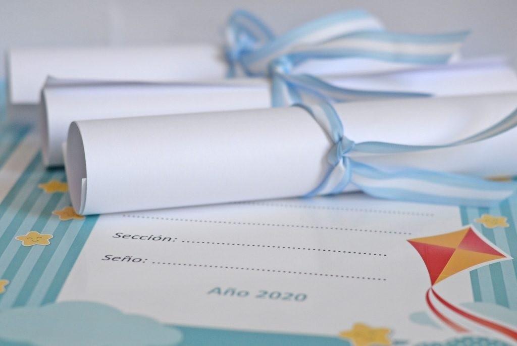 Jardines Maternales Municipales: entrega de diplomas para la Promo 2020