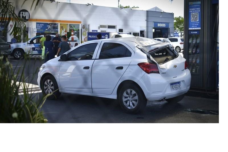 Insólito accidente en la autopista Riccheri: una rueda se salió de un camión y mató a una empresaria