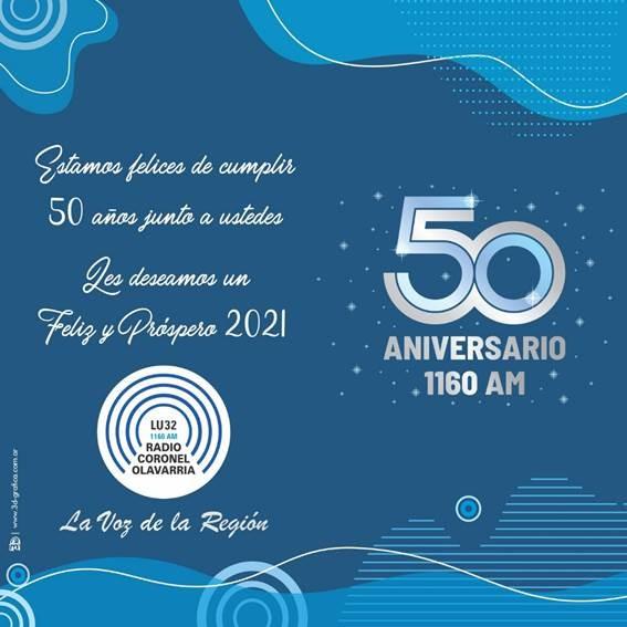 Radio Olavarría saluda para estas fiestas
