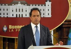 """Scioli quiere """"darle respuestas a los vecinos"""" con la Reforma Fiscal"""