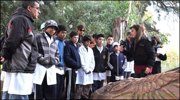 Programa Rayuela: Estudiantes de la Escuela Nº 56 participaron de un taller en el Sendero de la Salud