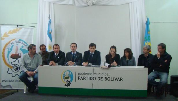 Bolívar: Bucca solicitó la Emergencia Agropecuaria para el Partido