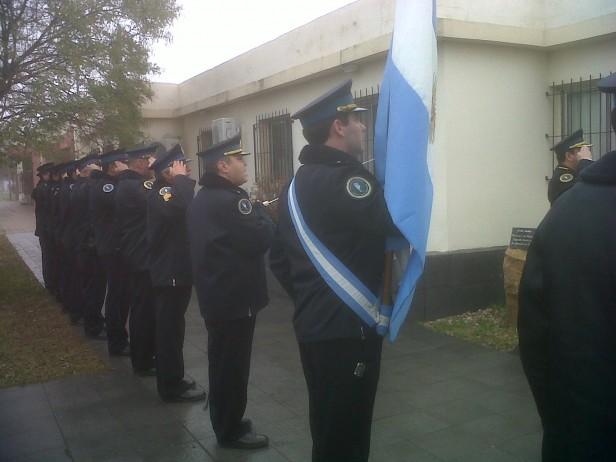 La Policía Federal tuvo su acto por el 25 de Mayo