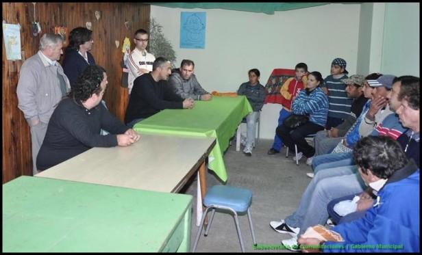 Curso de albañilería en el Servicio Territorial Municipal Nº 3