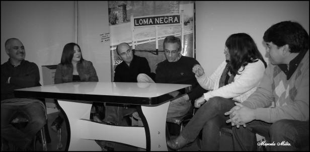El Intendente Eseverri confirmó ante los vecinos de Loma Negra que tendrán su propio museo