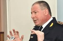 Pasan a retiro al Jefe Departamental de Azul Comisario Mayor Gustavo Carreiras
