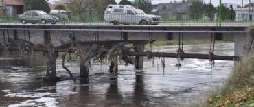 """Tras la crecida: """"los puentes siguen en condiciones normales"""""""