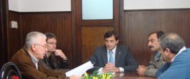 Bolivar: El intendente se reunió con Hidráulica y con entidades agropecuarias