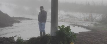 Alvear: el intendente Cellillo recorrió sectores afectados por la crecida del arroyo Las Flores