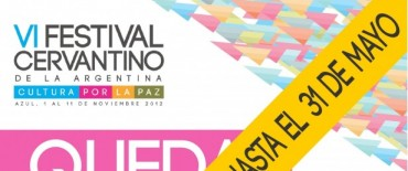 """Azul: se extiende la convocatoria del VI Festival Cervantino """"Azul Soy Quixote 2012"""""""