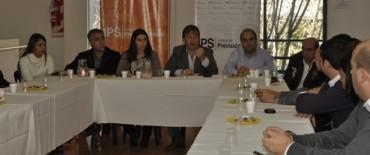 Cascallares reunió a centros previsionales de 29 municipios de la provincia
