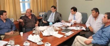Encuentro del titular de la Agencia Provincial de Transporte con cámaras empresariales