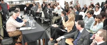 El Intendente encabezó la reunión de la Comisión de Profesionales en Ciencias Económicas