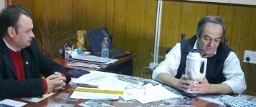 Alvear: el intendente Cellillo y el diputado Armendariz visitaron al intendente de Tapalqué