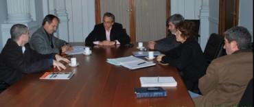 El Intendente Eseverri recibió a representantes de la CIC