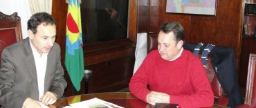 Alvear: Cellillo se reunió con el intendente de La Plata, Dr. Pablo Bruera