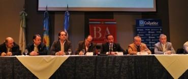 El Intendente de General La Madrid en el lanzamiento de la nueva etapa del Plan Agroalimentario Nacional