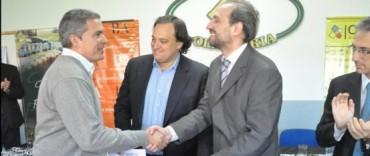 Reunión de cooperativistas en la Agencia de Desarrollo Local