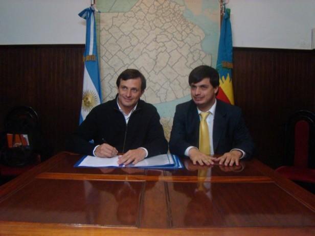 Bolívar: se firmaron varios convenios con el Ministerio de Trabajo