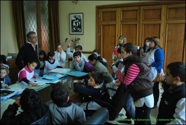 Alumnos de la Escuela Primaria Nº 4 visitaron el Palacio San Martín
