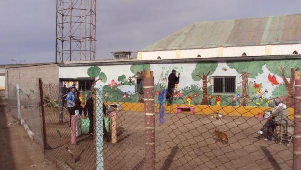Fue inaugurada una plaza de juegos infantiles en la Unidad 2 de Sierra Chica
