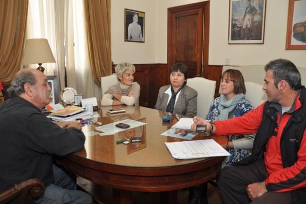 General La Madrid: estuvo el  Ministerio de Desarrollo Social de la Nación