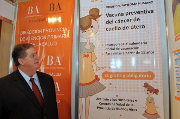 La provincia ya vacunó contra el VPH al  95 por ciento de las nenas de once años