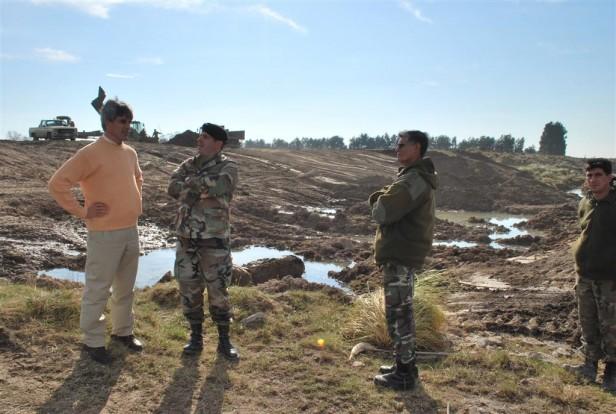 El Gobierno Municipal continúa trabajando en la mejora del escurrimiento del arroyo