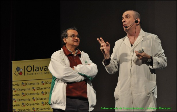 """Un excelente marco de público presenció """"Consejos del Doctor Tomás Fija"""" en el Teatro Municipal"""