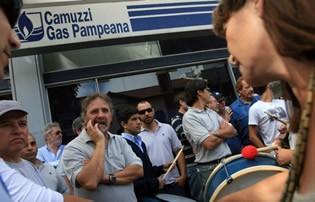 Continúa el paro de los trabajadores de Camuzzi