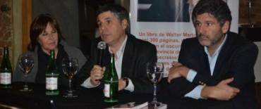 """La Senadora Gainza participó de la presentación del libro del legislador Martello   """"No va más"""""""